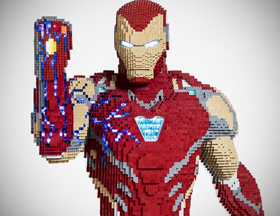 LEGO 35,000 Bricks Iron Man