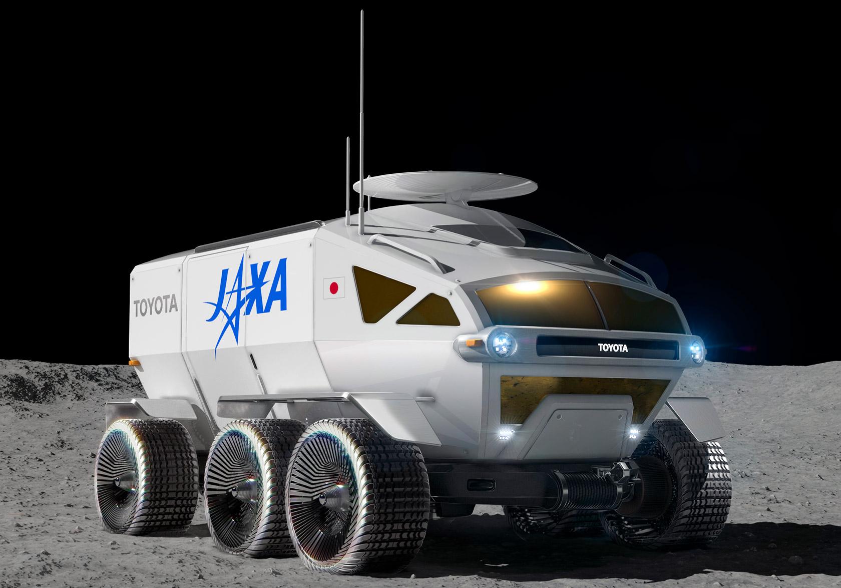 Toyota JAXA Moon Rover NASA
