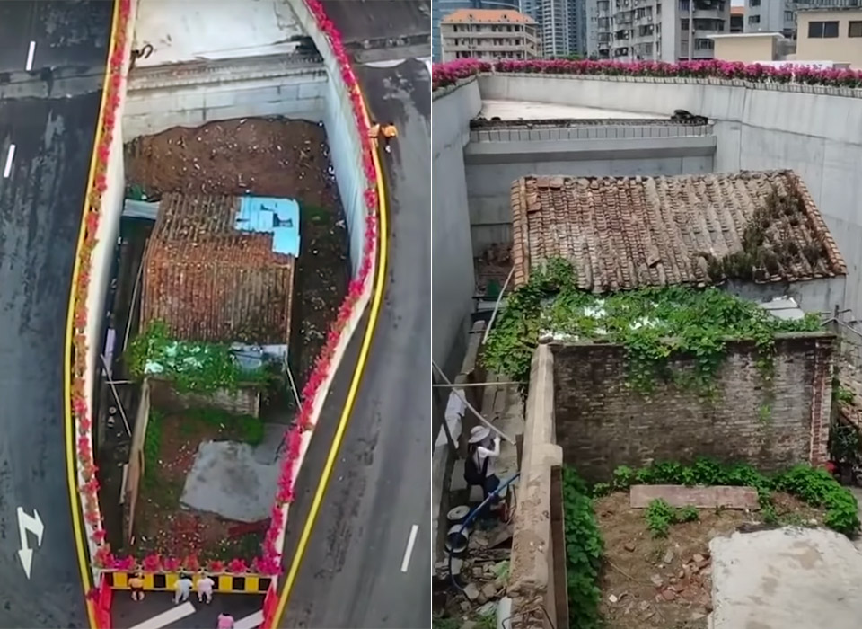 China Homeowner Move Bridge