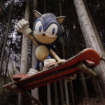Sonic the Hedgehog Statue Japan