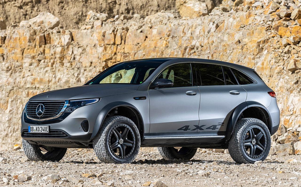Mercedes-Benz EQC 4×4² Concept