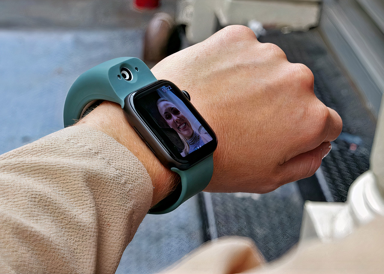 Wristcam Camera Apple Watch