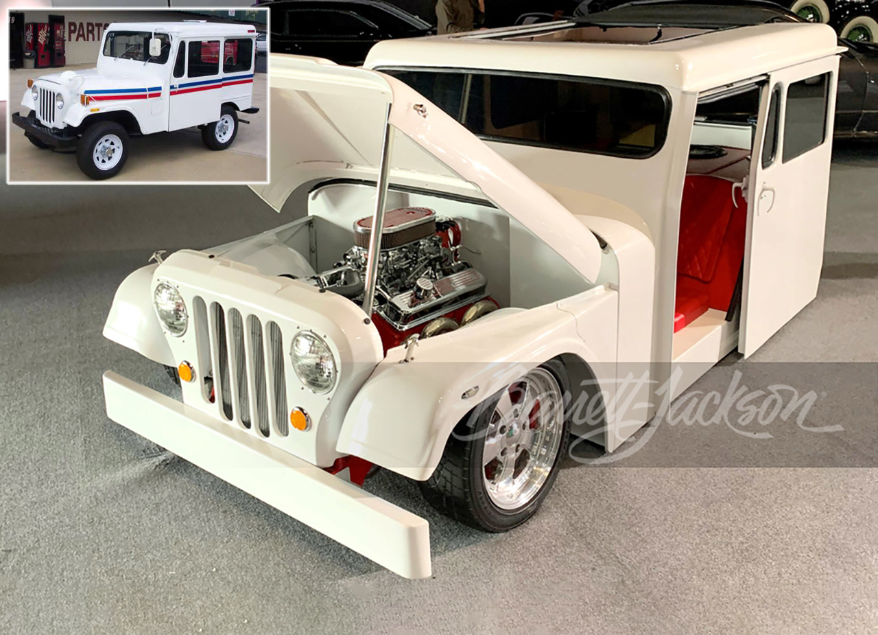Jeep Mail Truck Hot Rod