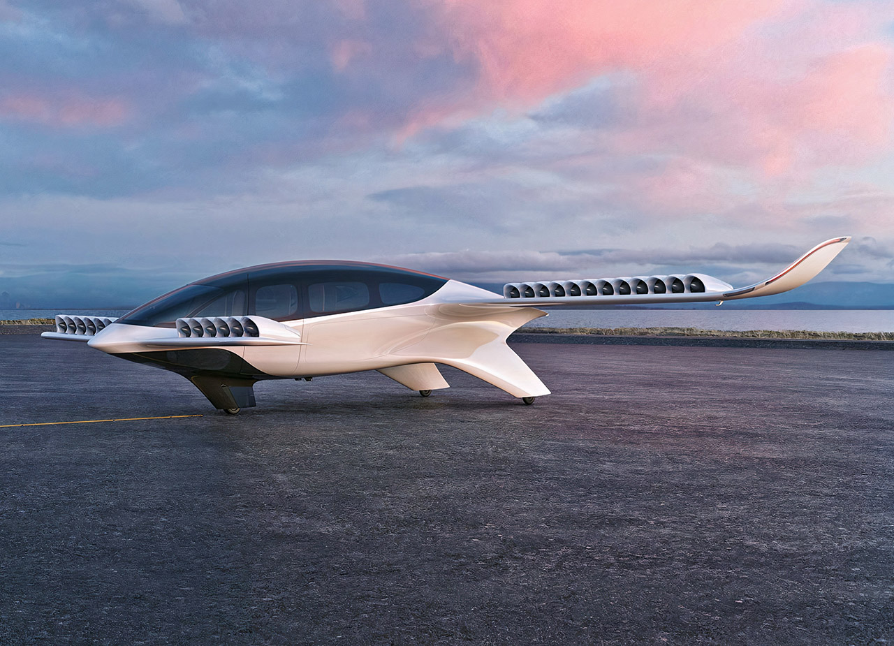Electric Lilium 7-Seater Jet