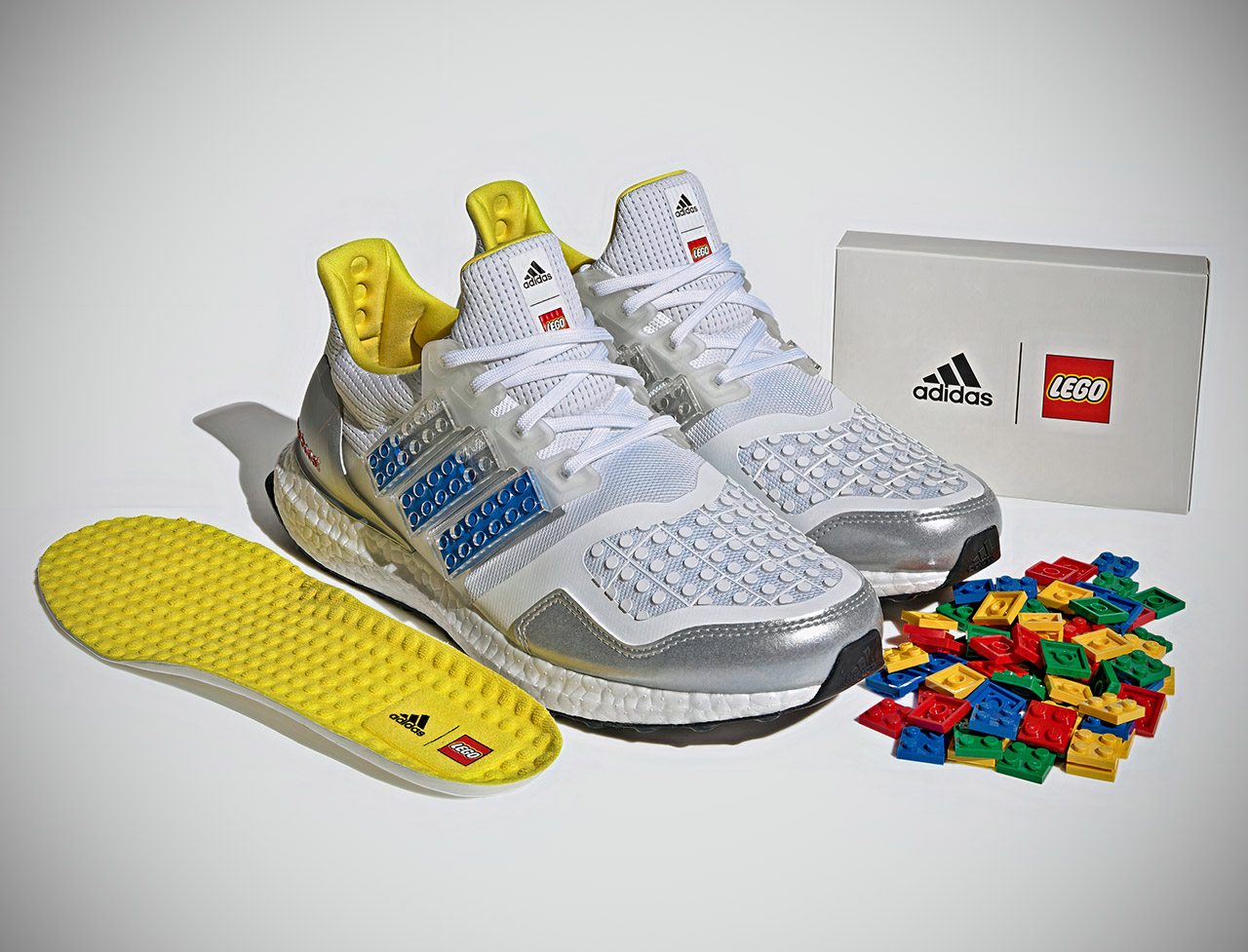 Adidas Ultraboost x DNA LEGO Plates Running Shoes