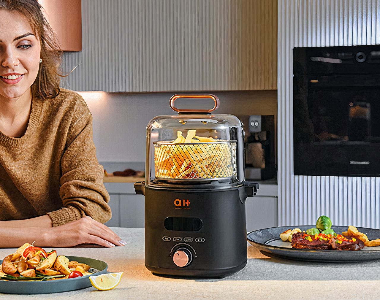 AUKEY CrispX Air Fryer Grill