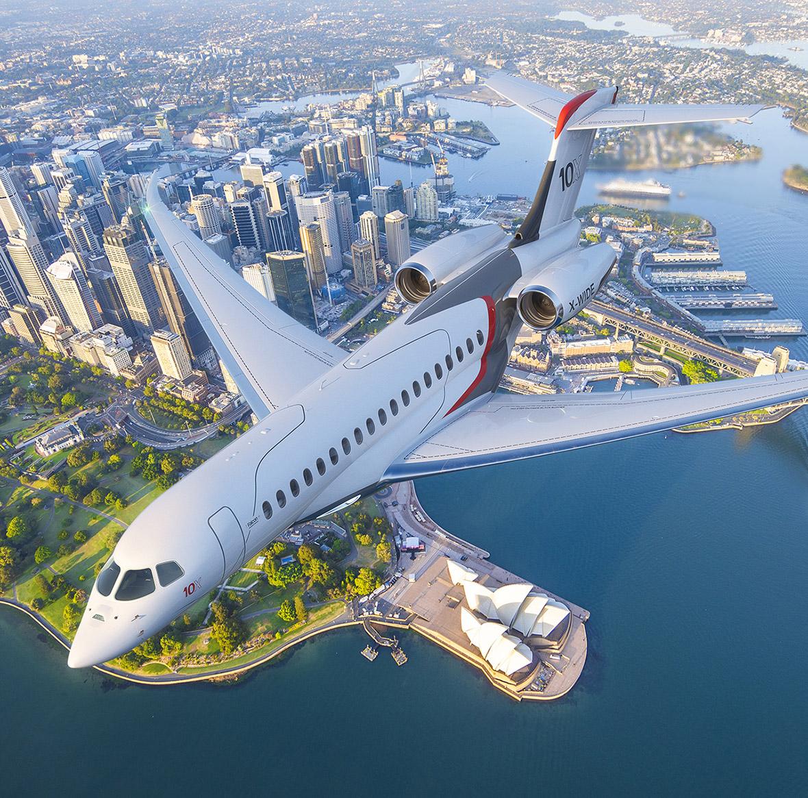 Dassault Aviation Falcon 10X Business Jet