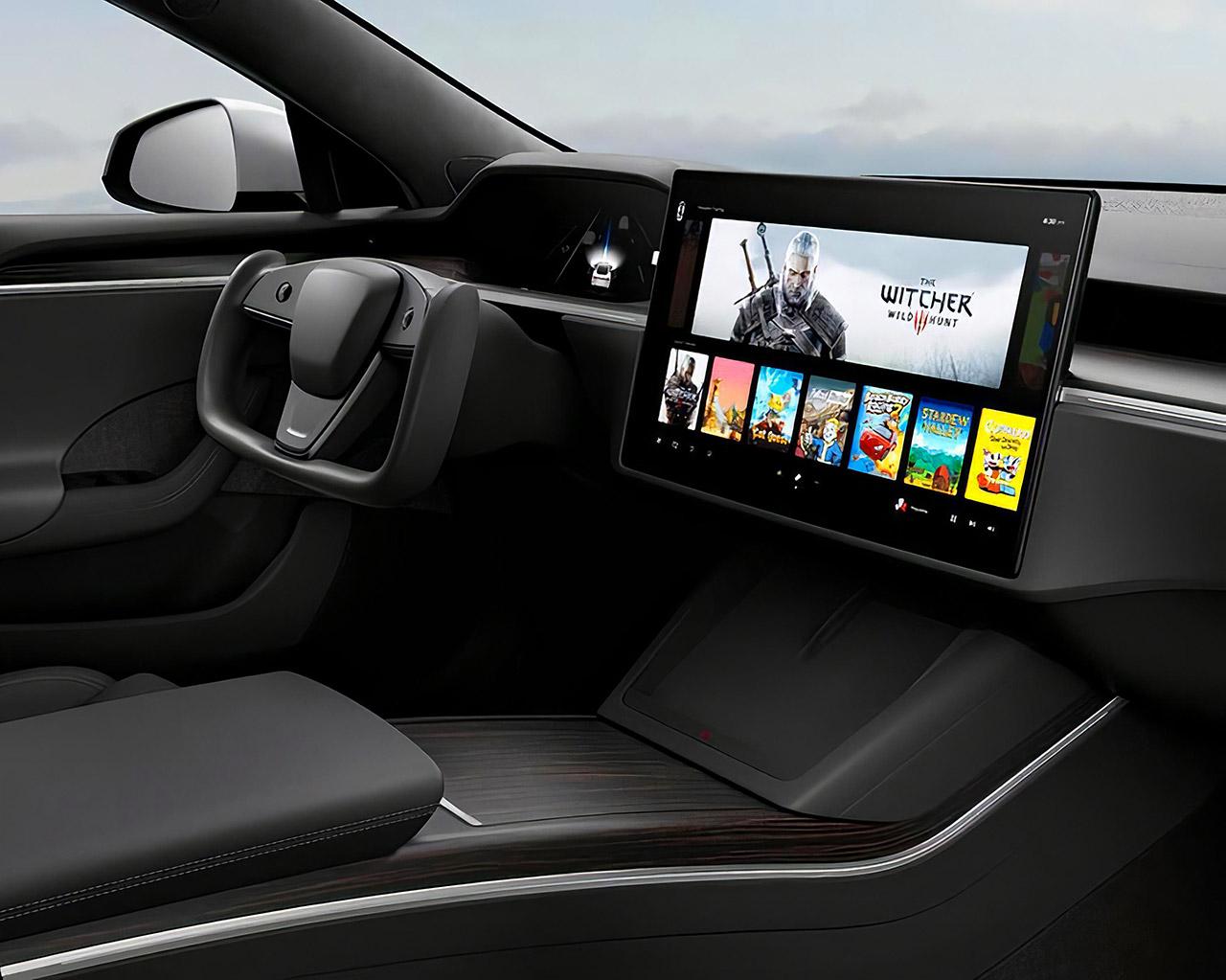 AMD Ryzen RDNA 2 Tesla Model S Model X Infotainment System